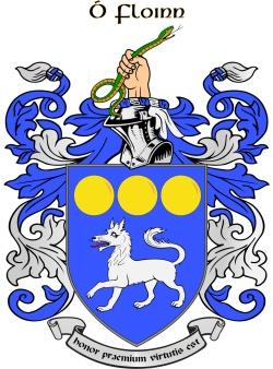 O'FLYNN family crest