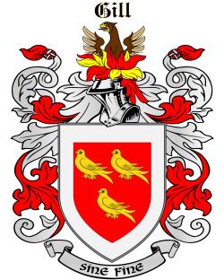GILL family crest