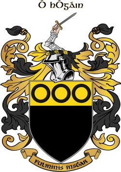 HOGAN family crest