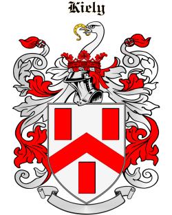 KIELY family crest