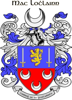 O'LOUGHLIN family crest