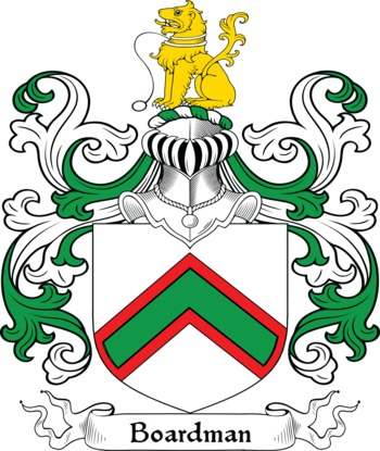 BOARDMAN family crest