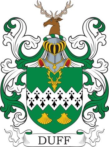 DUFF family crest