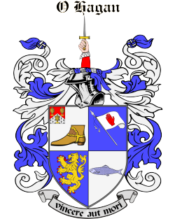 O'HAGAN family crest
