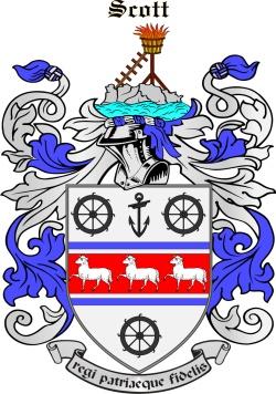 SCOTT family crest